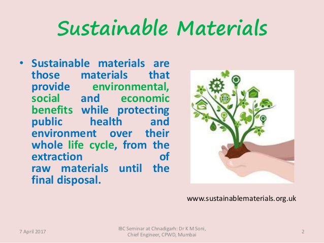 Sustainable Materials ...