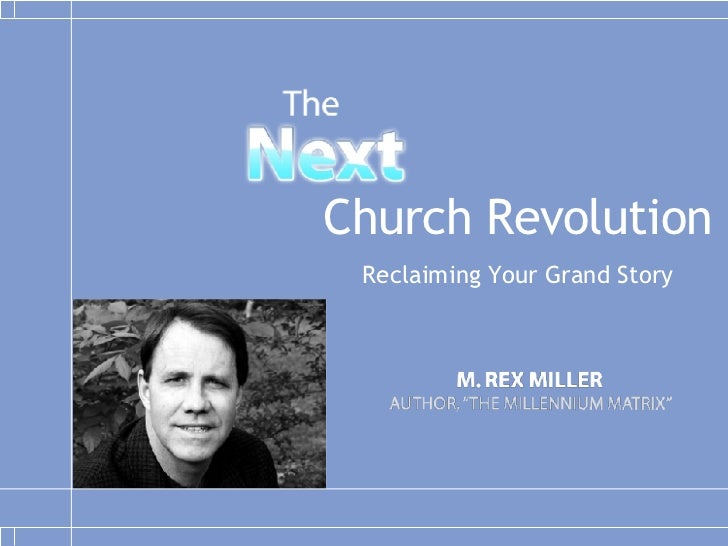 Church Revolution Reclaiming Your Grand Story