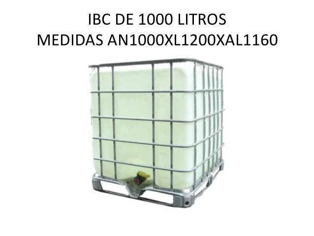 Centro de gravedad transporte terrestre Estanque ibc 1000 litros