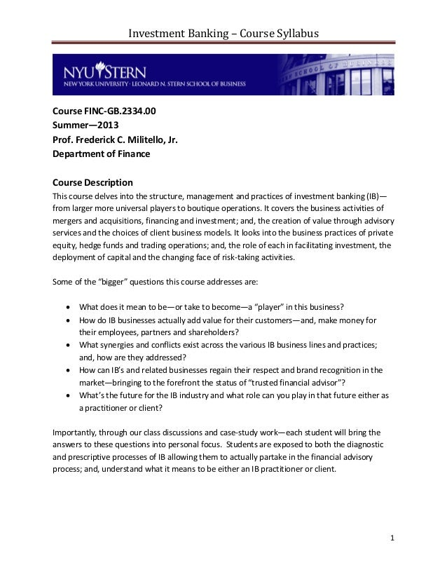 investment banking summer analyst cover letter