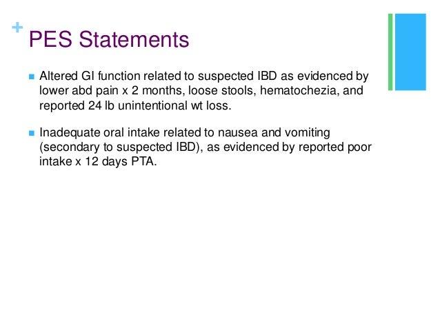 IBD presentation