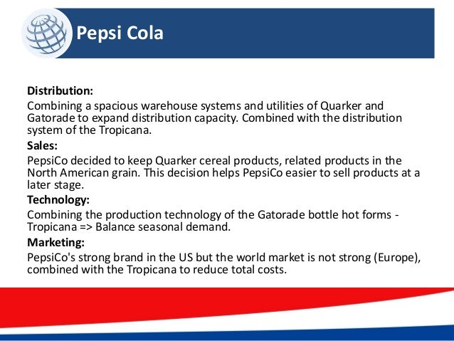 pepsico annual report What you need to know before pepsico's upcoming second-quarter 2017  in  april, beverage digest released its annual report on the state of.