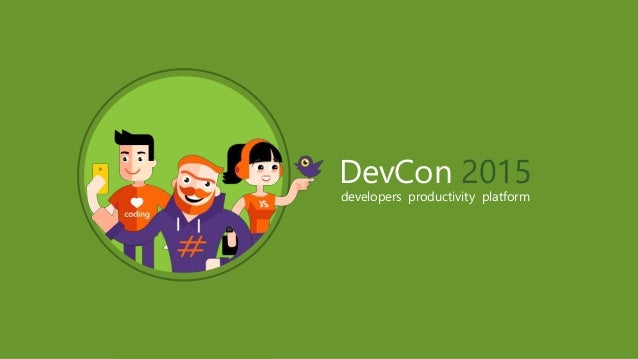 DevCon 2015 developers productivity platform