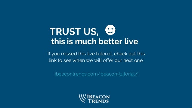 TRUST US, this is much better live If you missed this live tutorial, check out this link to see when we will offer our nex...