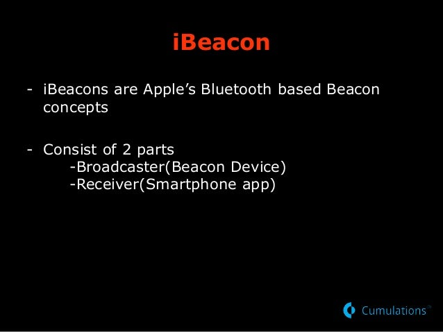 Understanding of iBeacons for BLE Projects
