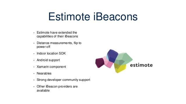 Xamarin iBeacon Mini-hack using Estimote iBeacons