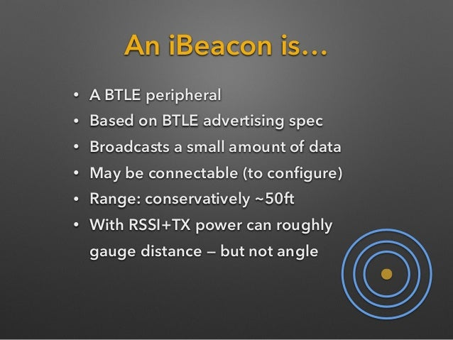 Build Your Own Ibeacon
