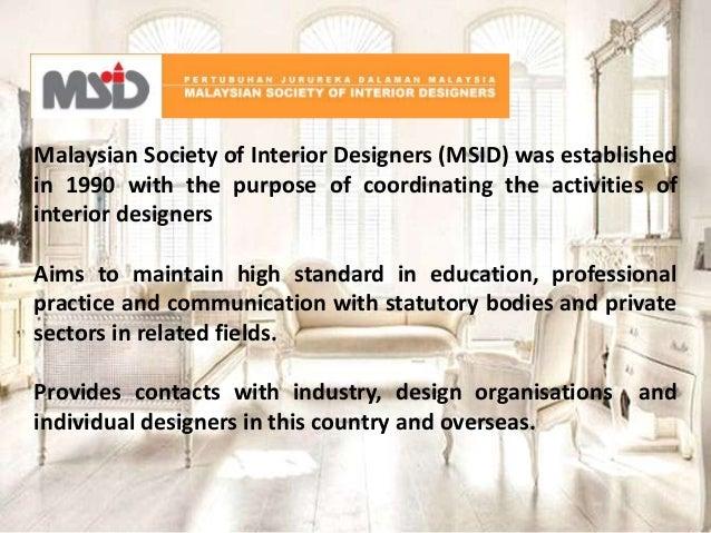 15 Malaysian Society Of Interior Designers