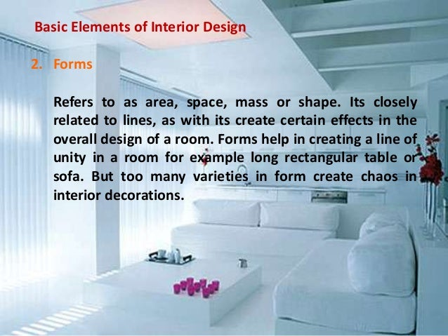 19 Basic Elements Of Interior Design
