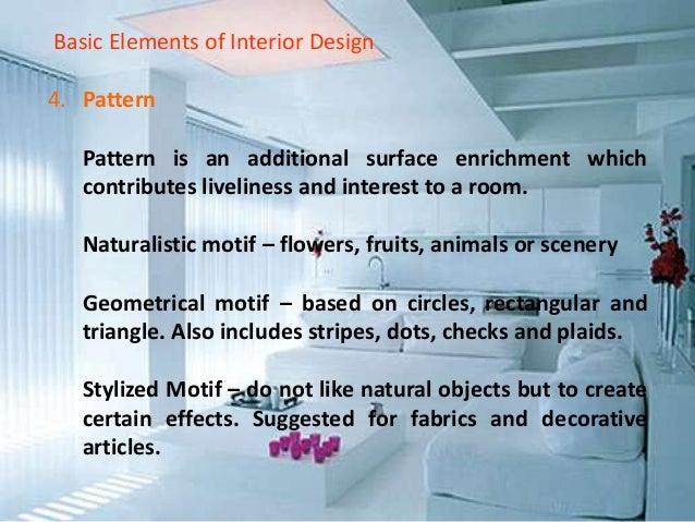 21 Basic Elements Of Interior Design
