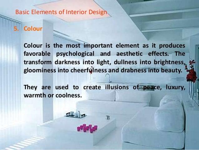 Basic Elements Of Interior Design ibe interiordesign