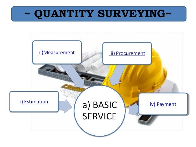 The accuracy of quantity surveyors