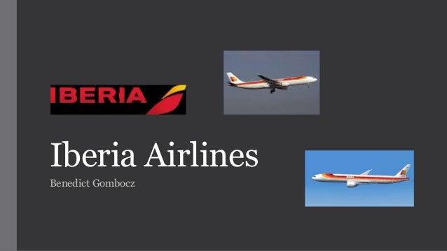 Iberia Airlines Benedict Gombocz