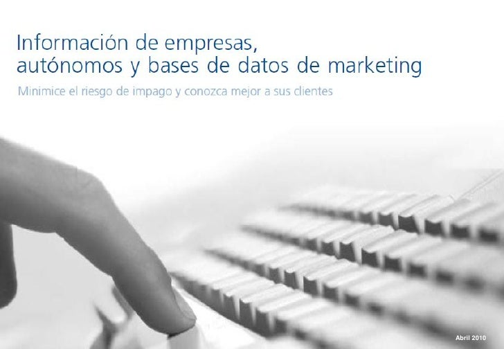 www.iberinform.es   Abril 2010                             1