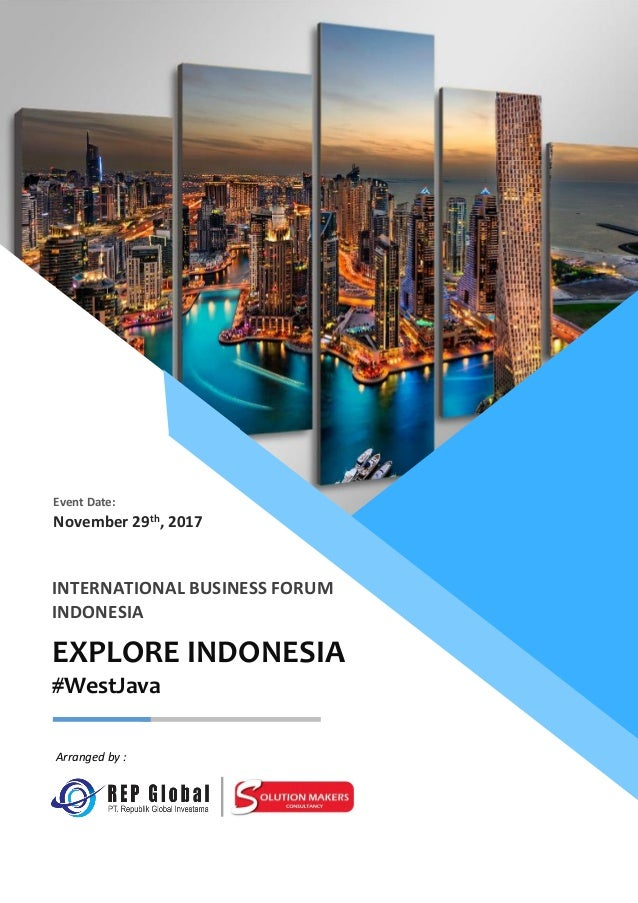 International Business Forum  Explore indonesia