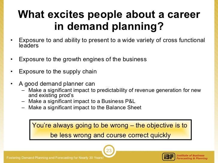 Attracting & Retaining Demand Planning & Forecasting Talent