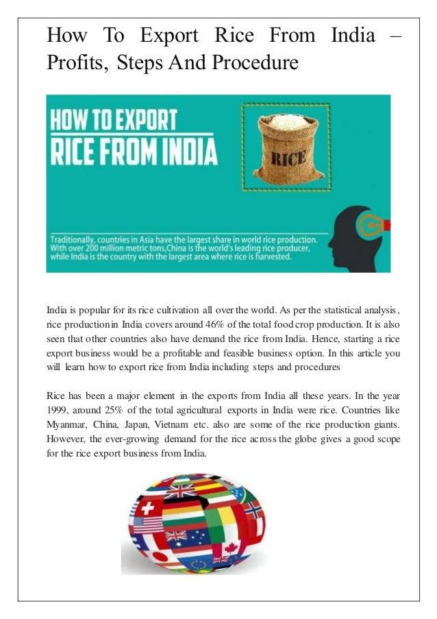 export procedure flow chart