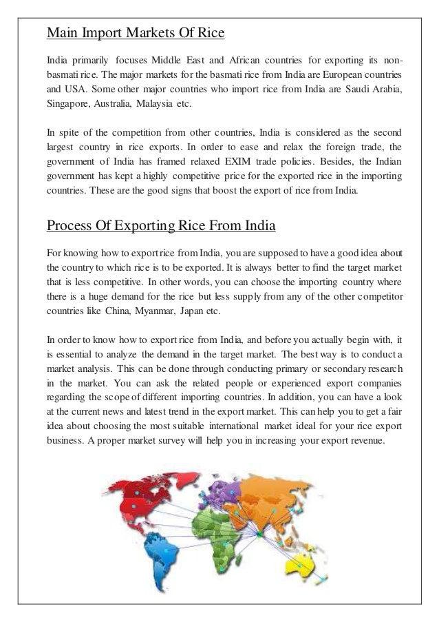 export documents checklist