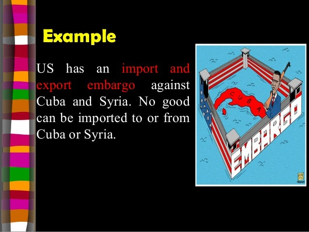 us and cuba embargo essay example Us and cuba embargo essays: over 180,000 us and cuba embargo essays, us and cuba embargo term papers, us and cuba embargo research paper, book reports 184 990 essays, term and research papers available for unlimited access.