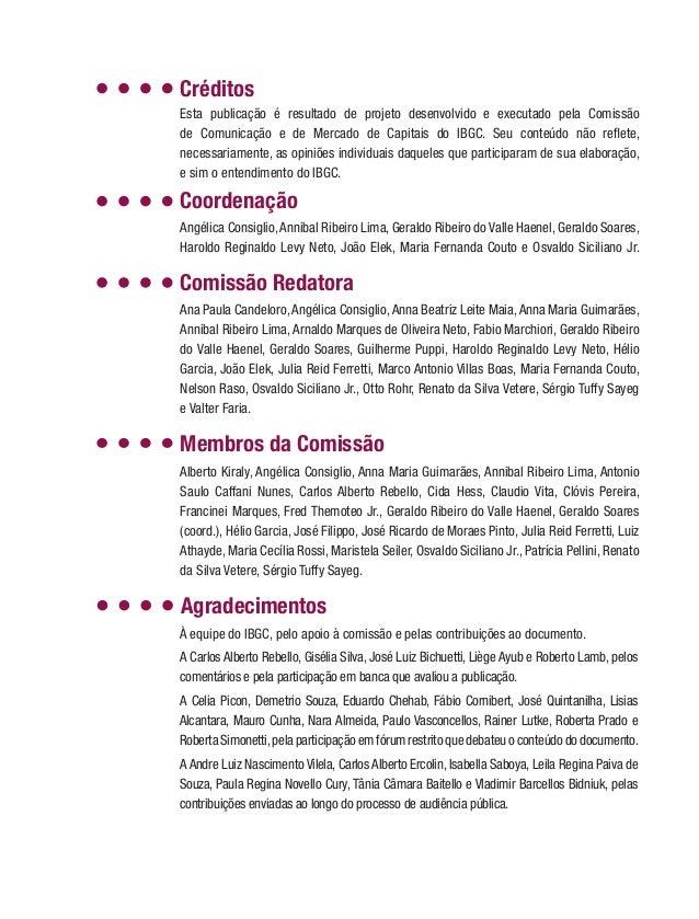 Coordenação Angélica Consiglio,Annibal Ribeiro Lima, Geraldo Ribeiro do Valle Haenel, Geraldo Soares, Haroldo Reginaldo Le...