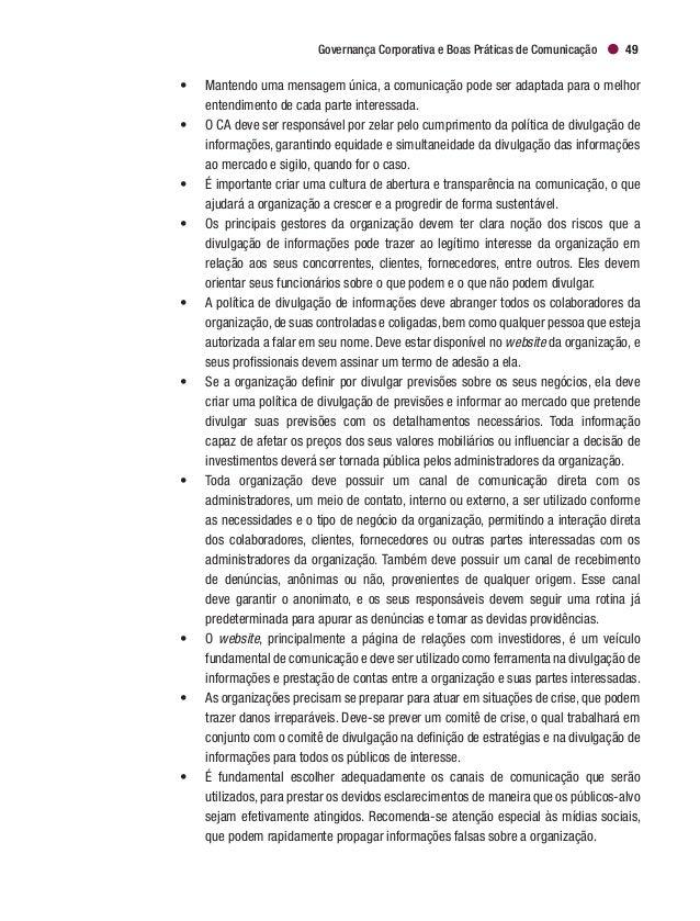GOVERNANÇA CORPORATIVA 2017