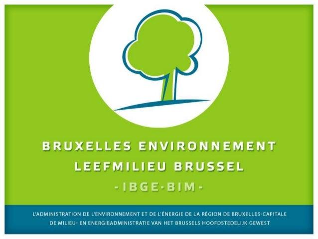 Séance d'information :la gestion des déchetsde construction La règlementation régionale bruxelloise sur les déchets de con...