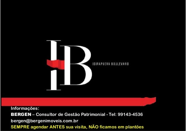 Informações: BERGEN – Consultor de Gestão Patrimonial - Tel: 99143-4536 bergen@bergenimoveis.com.br SEMPRE agendar ANTES s...