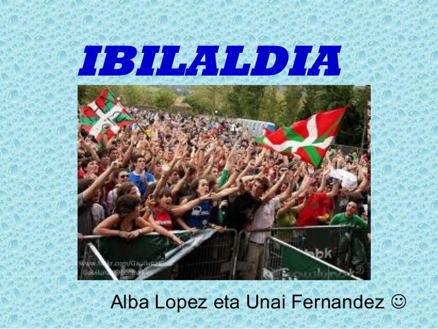 IBILALDIA Alba Lopez eta Unai Fernandez 