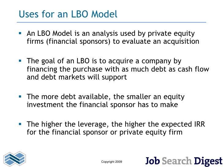 Lbo Model Example