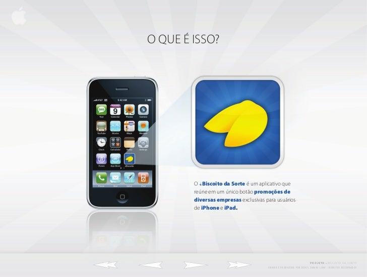 Ibiscoito da sorte app para iphone e ipad for App para disenar muebles ipad
