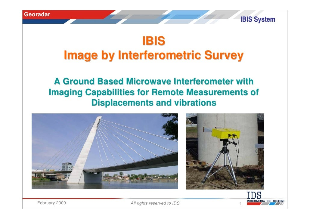 Georadar                                                        IBIS System                              IBIS             ...