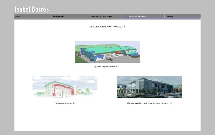 Home   Residential               Commercial and Mixed              Leisure and Sport                         Others       ...