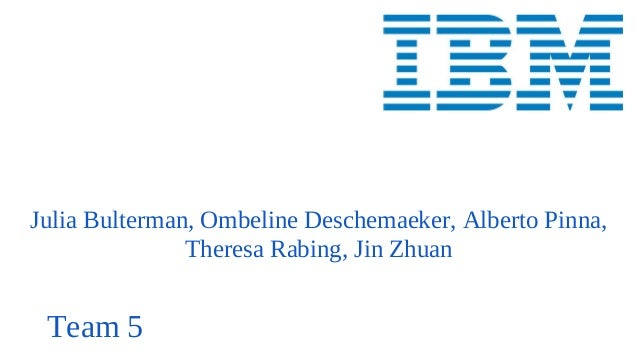 Julia Bulterman, Ombeline Deschemaeker, Alberto Pinna, Theresa Rabing, Jin Zhuan Team 5