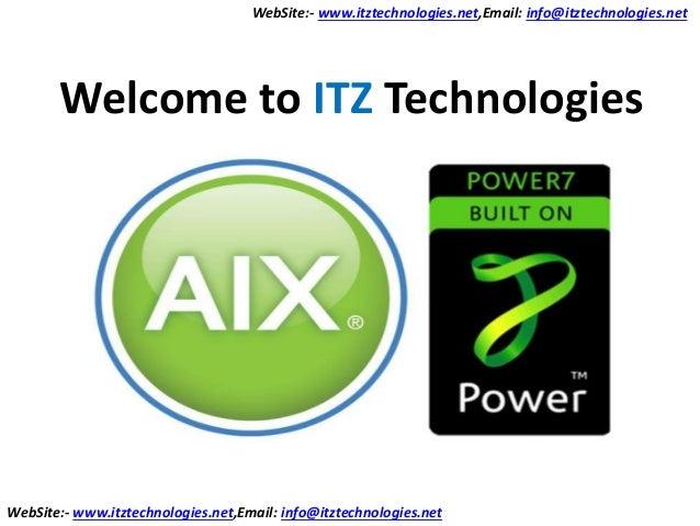 IBM-AIX Online Training Course outline