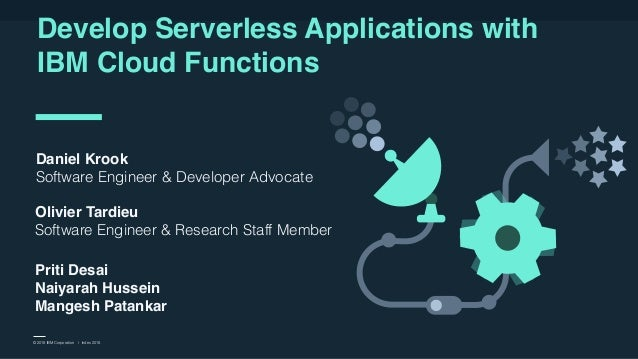 IBM and Business Partner Use Only l Fast Start 2018 