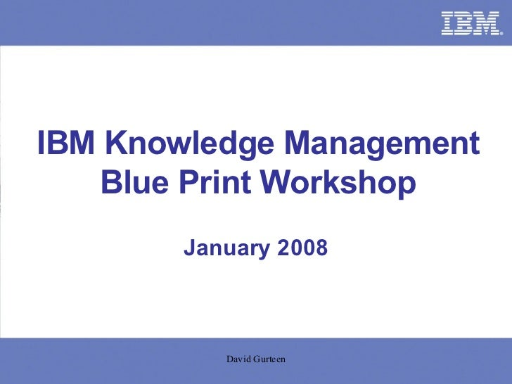 Ibm km blueprint workshop km goes social malvernweather Image collections