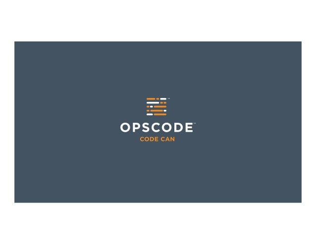Who Says Elephants Can't Cook?How IBM and Opscode are changing the role ofcode in defining next-generation infrastructures...