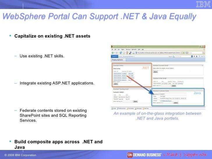 <ul><li>Capitalize on existing .NET assets  </li></ul><ul><ul><li>Use existing .NET skills. </li></ul></ul><ul><ul><li>Int...