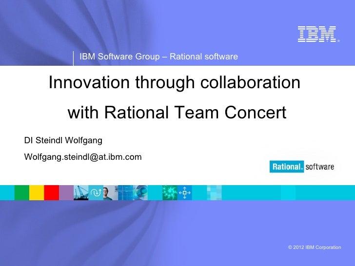IBM Software Group | Rational software                                                                           ®        ...