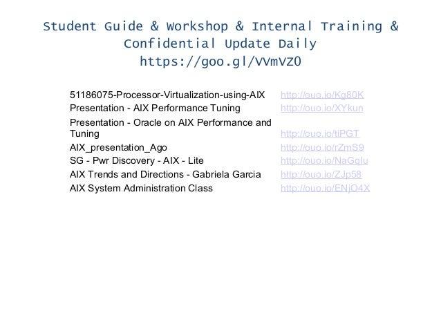 Student Guide & Workshop & Internal Training & Confidential Update Daily https://goo.gl/VVmVZ0 51186075-Processor-Virtuali...