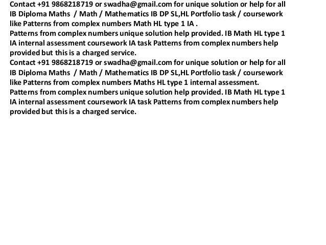 ib math sl stellar numbers ia Ib mathematics sl math portfolio (type i) stellar numbers rianette evadne a lapiz ås videregående skole 30th august 2010 encode values for.
