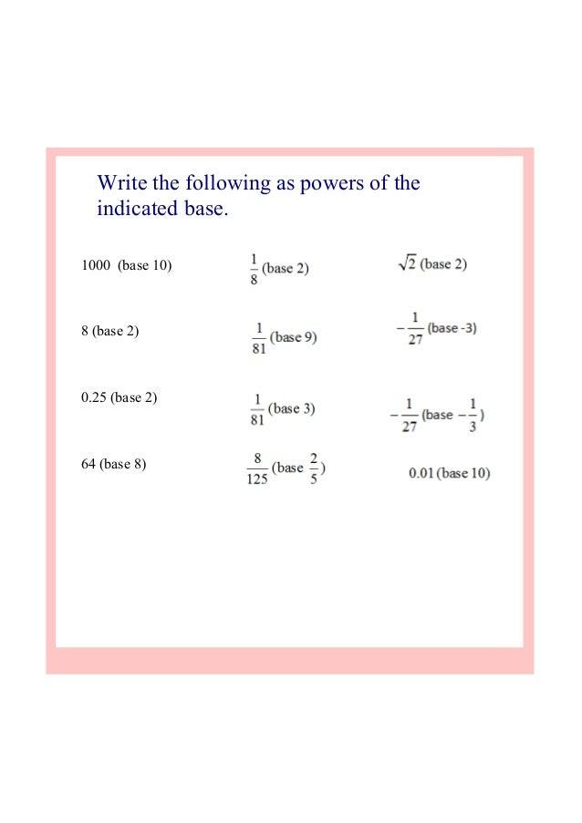 Ib maths sl exponential equations – Exponential Equations Worksheet