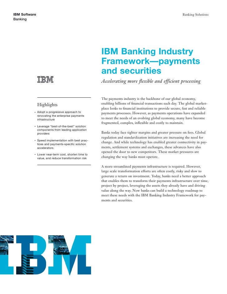 Payment Processing: Enabling Banks to Streamline Payments and Securities