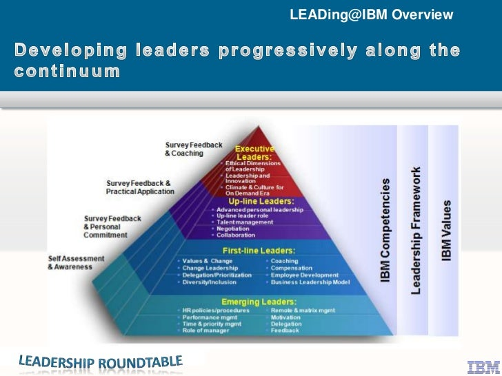 IBM Leadership Development Framework
