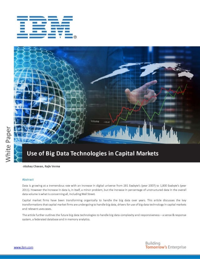 big data analytics research paper