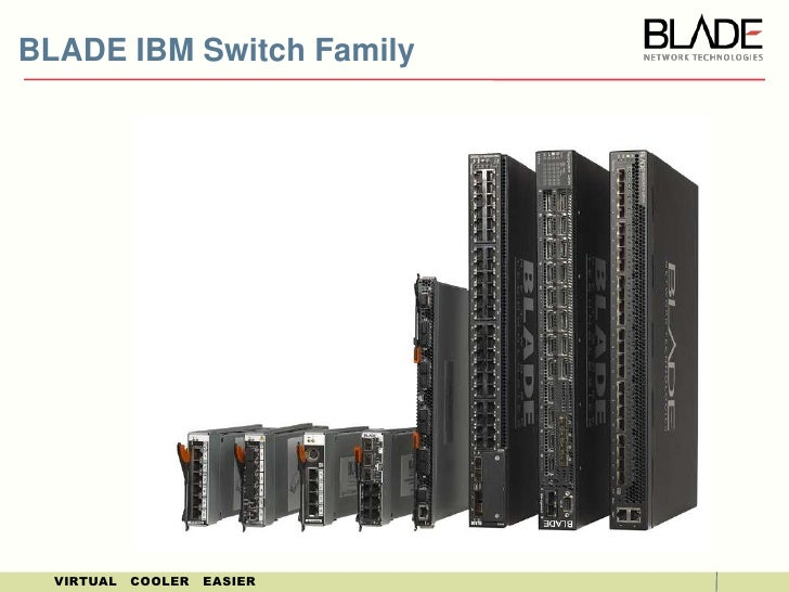 BLADE IBM Switch Family<br />