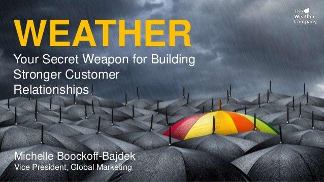 IBM BC2016 - The Weather Company