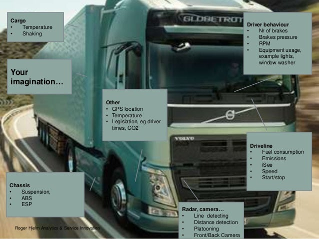IBM BC2016 - VOLVO - Trucks in the connected society?