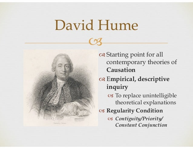 hume vs kant causality Hume on the perception of causality introduction few issues in philosophy have generated as much  many philosophers, but most notably kant,' have claimed.