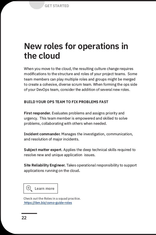 IBM Cloud Service Management and Operations Field Guide